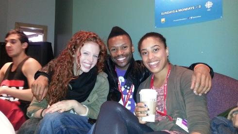 Shawn Byfield With SYTYCD Canada Winner Jordan Clark & Artist Teya Wild