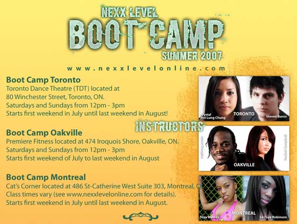 Nexx Level Summer Bootcamp