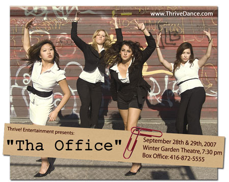 THA OFFICE buzz flyer