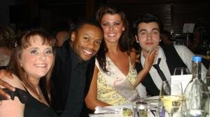Carla, me, Nieve, Gianni