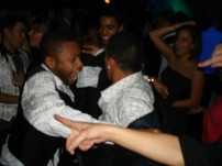 Battlin' some guy in the club... fun times!