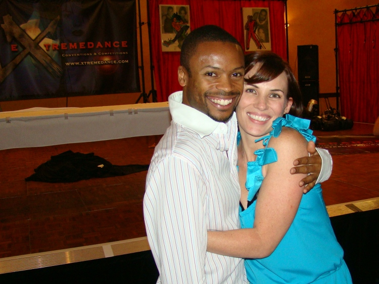 Melissa Williams and Shawn B