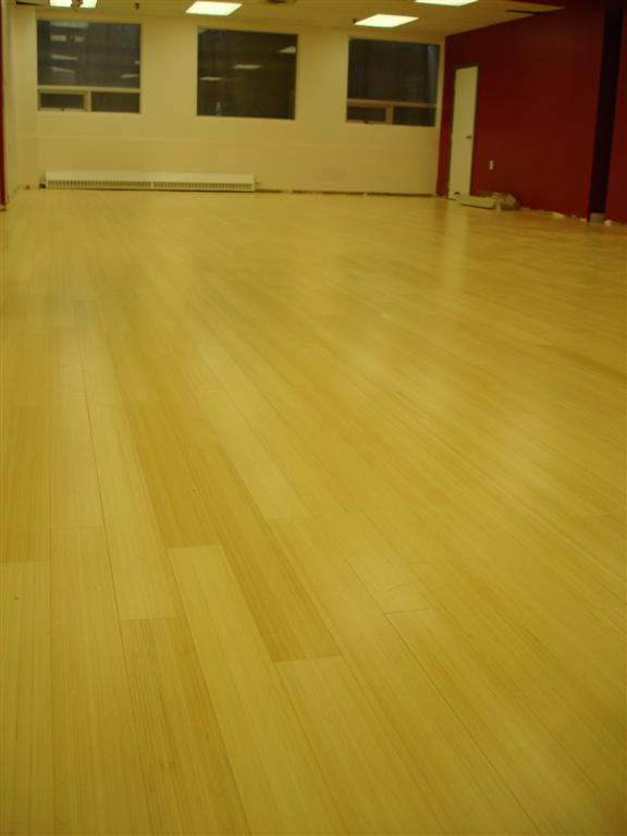My sprung hardwood dance floor