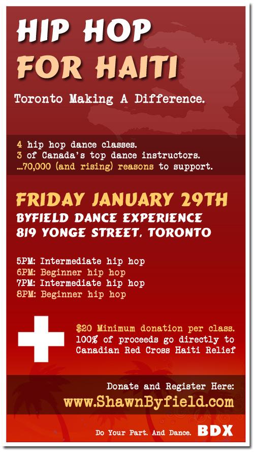 Hip Hop For Haiti
