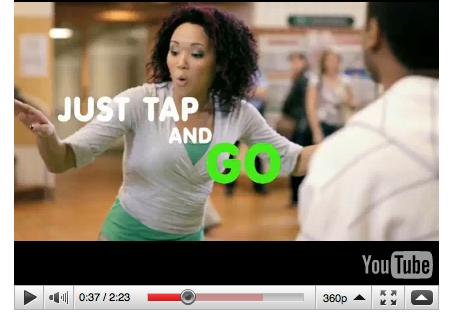 Toronto tap dance ad w Shawn Byfield