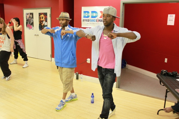 Dance audition Shawn Byfield and Hollywood