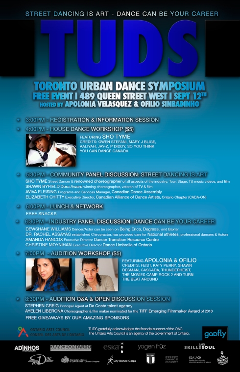Toronto Urban Dance Symposium