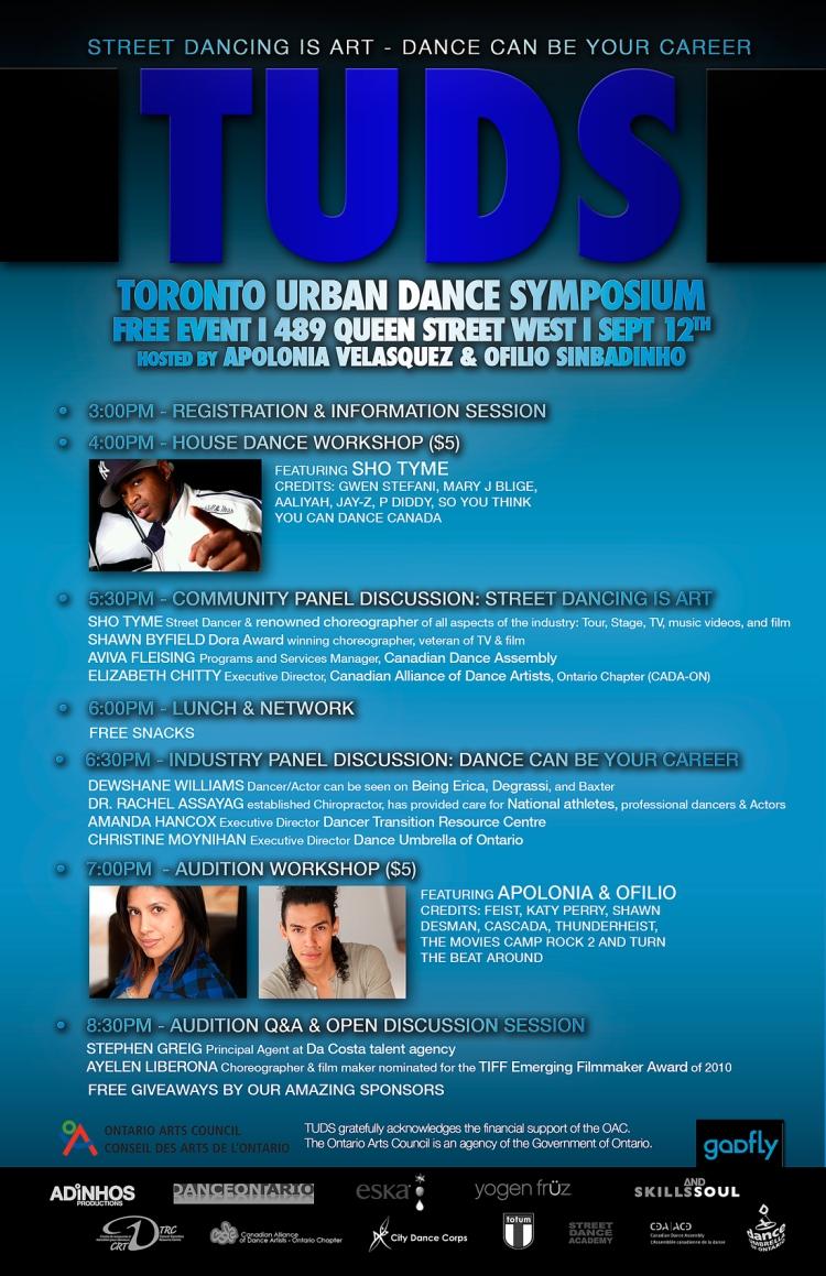 Toronto Urban Dance Symposium