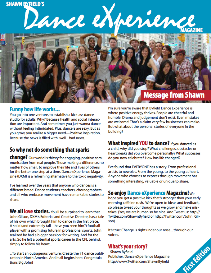 Dance eXperience Magazine
