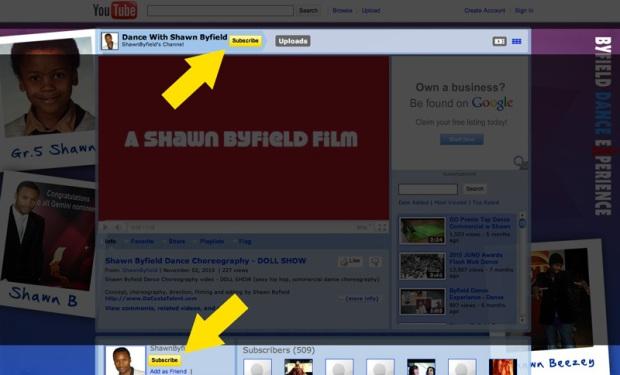 Shawn Byfield Youtube Channel