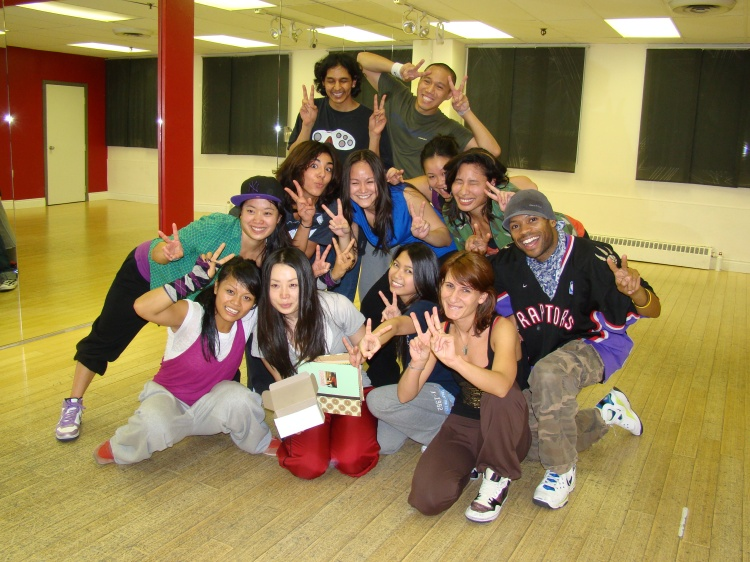 Toronto Dance Studio BDX - Saori Returns to Japan