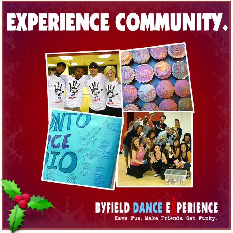 Experience Community at Byfield Dance Experience Toronto