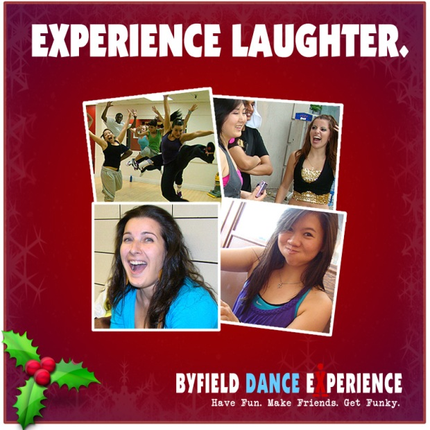 Experience Laughter at Byfield Dance Experience