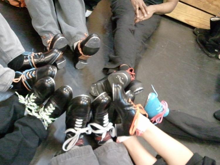 Adult tap dance shoes
