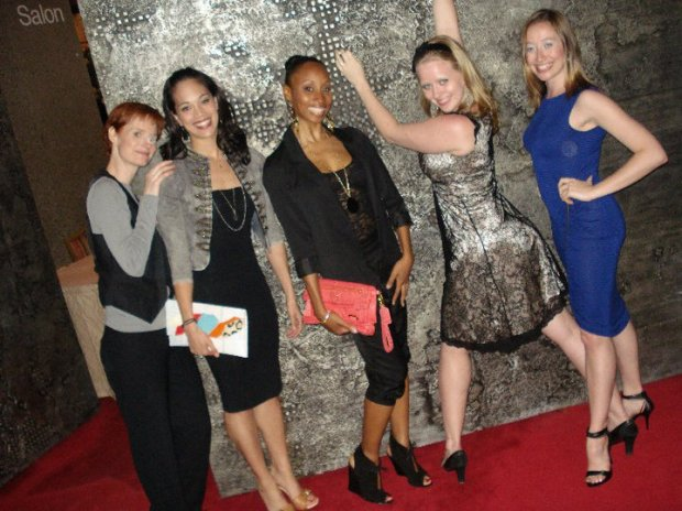 The ladies: Melody Johnson, Tammy Nera, Tangara Jones, Jamie McRoberts & Jennifer Stewart strike a pose