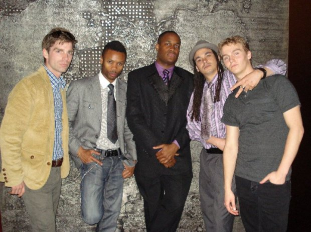 Gentlemen: Kyle Brown, Shawn Byfield, Matthew Brown, David Cox & Tosh Sutherland.