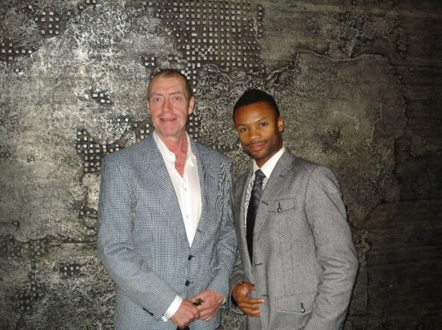 NAC Artistic Director Peter Hinton with Co-creator and Choreographer Shawn Byfield