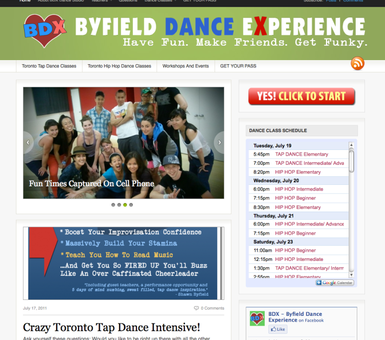 New site for Toronto dance studio Byfield Dance Experience