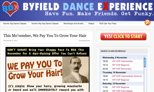 Toronto dance classes at Byfield Dance Experience