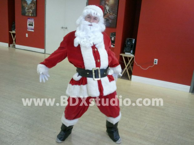 Hip Hop Santa Claus