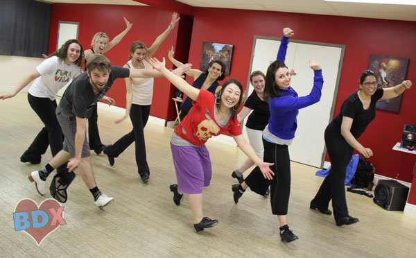 Adult beginner tap dance in Toronto at Byfield Dance Experience
