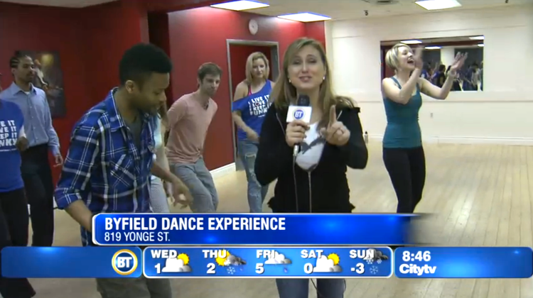 Byfield Dance Experience dance classes on Breakfast Television