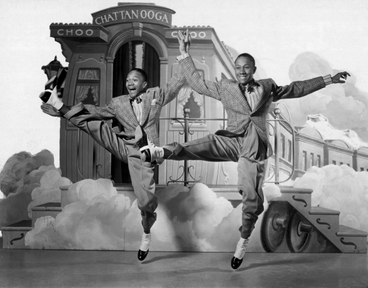 The Nicholas Brothers tap dance duo