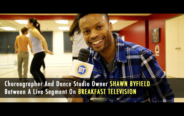 Shawn Byfield on Breakfast Television Toronto