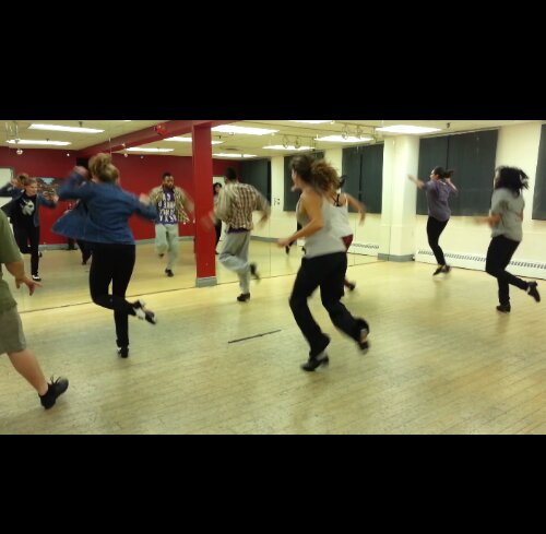 tap dance with Shawn Byfield