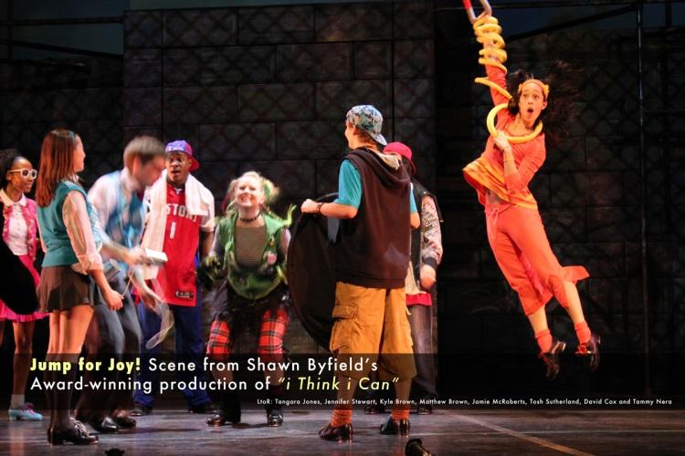 Shawn Byfield dance choreography & production