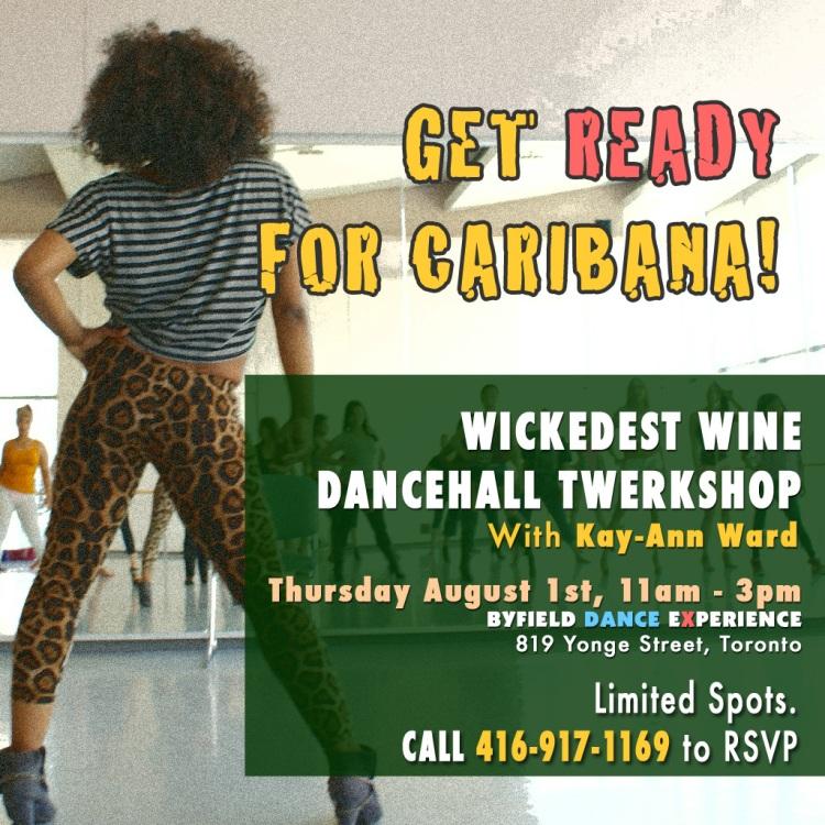 Toronto Caribana dance workshop