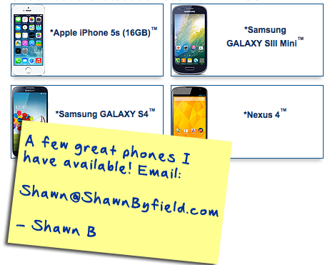 Best cell phone plan in Toronto, Ontario Canada