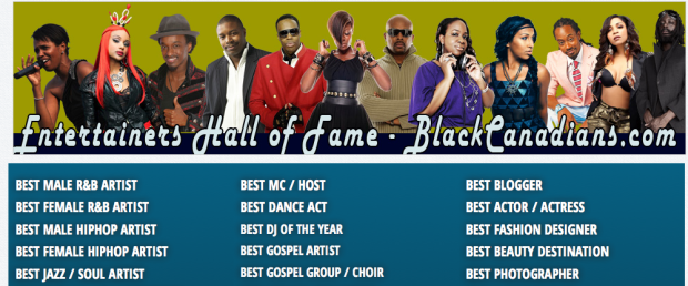 Black Canadian Awards - Shawn Byfield nominated