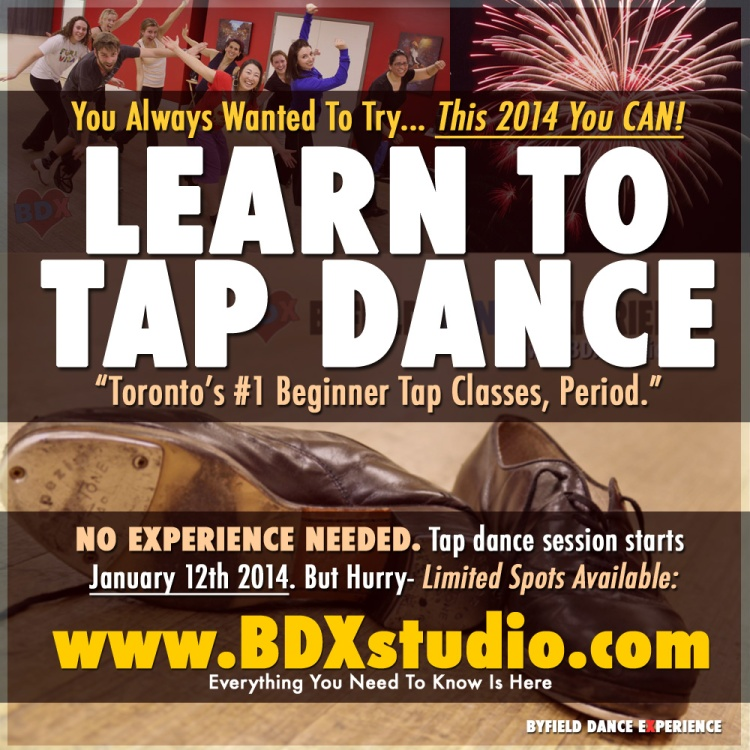 NEW YEAR RESOLUTION: Learn How To Tap Dance in 2014