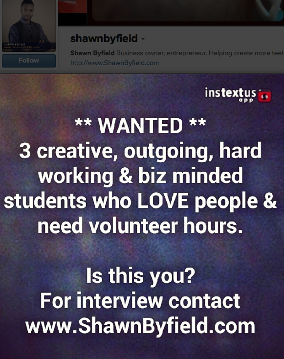 Toronto volunteers wanted