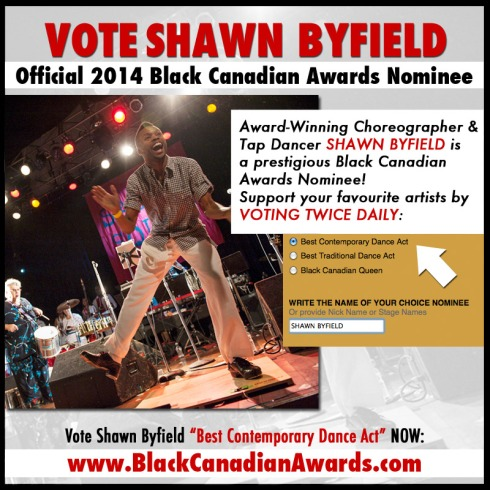 Black Canadian Awards nominate Shawn Byfield