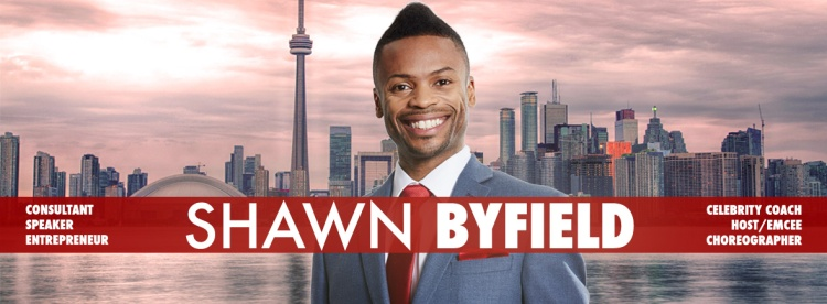 Public Speaker, Emcee and Event Host Shawn Byfield