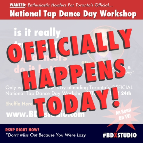 Toronto's National Tap Dance Day Workshop