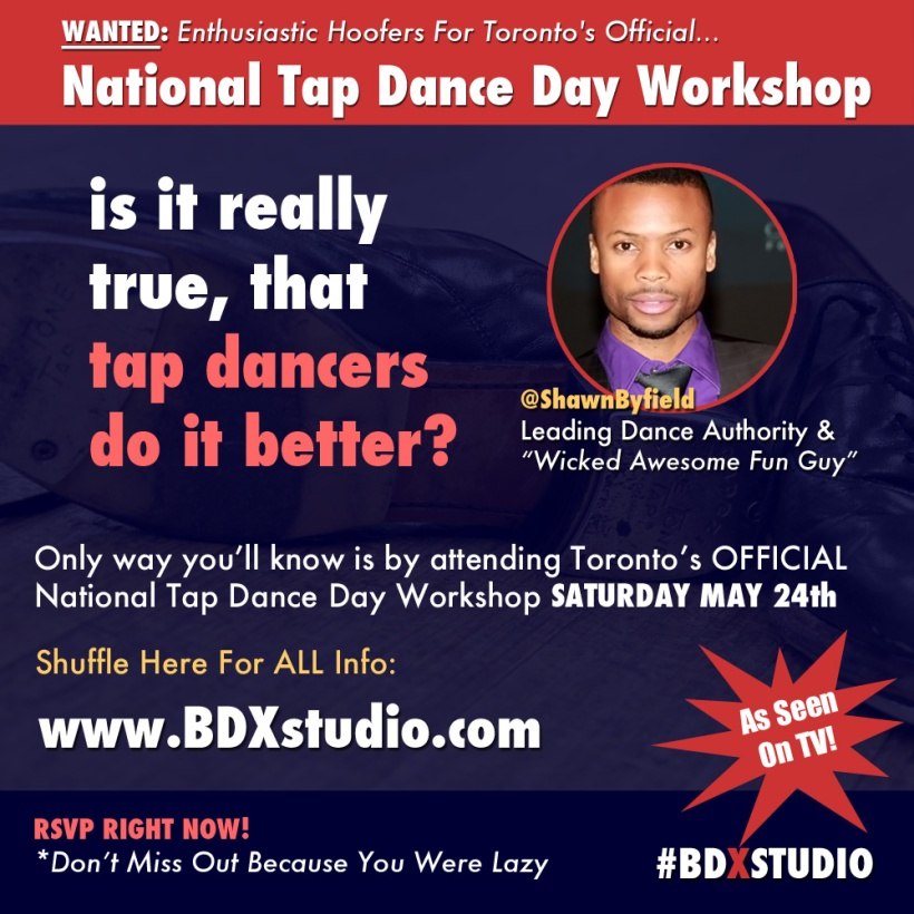 National Tap Dance Day in Toronto