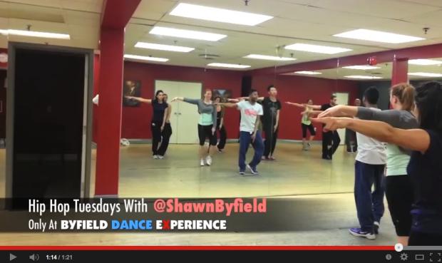 Hip hop dance class in Toronto