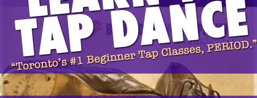 Beginner tap dance lessons in Toronto