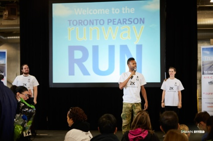 Shawn Byfield Toronto Pearson Runway Run