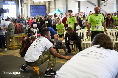 Shawn Byfield gets low for Toronto Pearson Runway Run