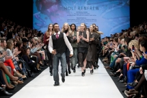 Shawn Byfield performs at Toronto Fashion Week