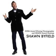 Shawn Byfield Dora Award winner