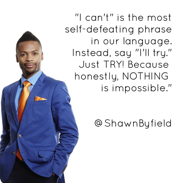 Shawn Byfield public speaker motivation inspiration