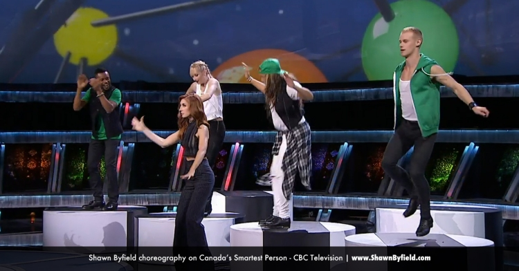 Shawn Byfield dance choreography on CBC Television