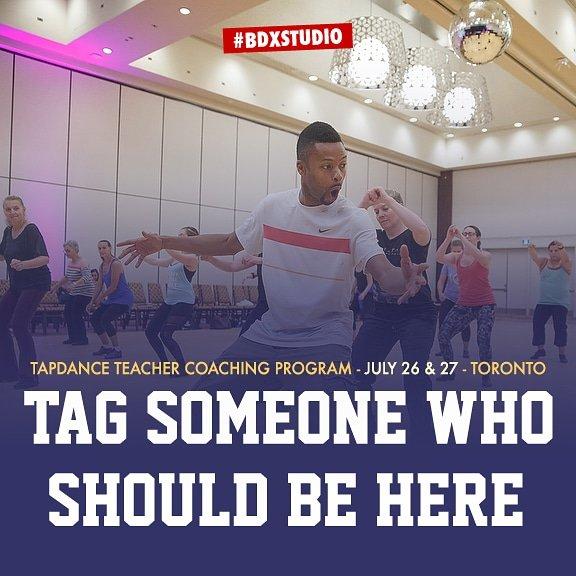 Tapdance Teacher Coaching Program Toronto