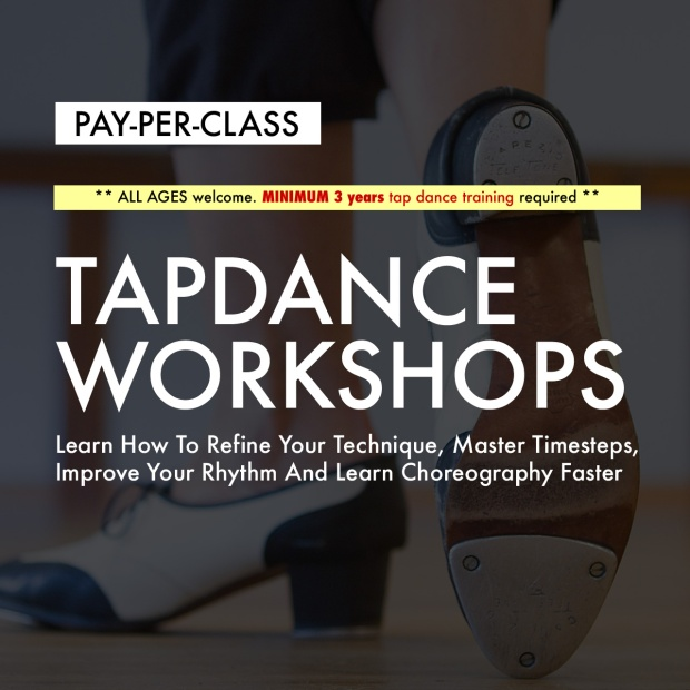 Toronto tap dance workshop class
