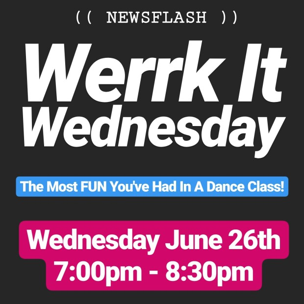 Werrk It Wednesday hip hop dance class Mississauga